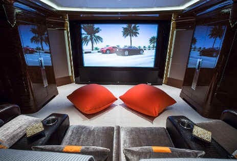 Excellence V Yacht Theater