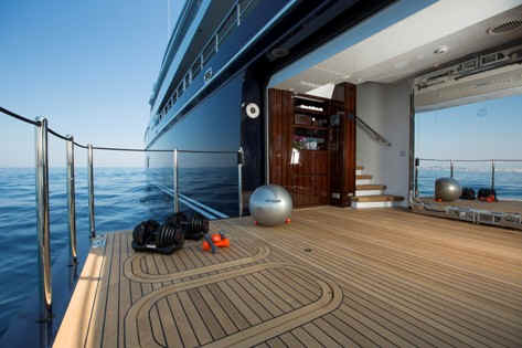 Yacht Excellence V gym