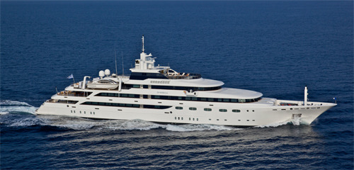 Yacht Omega for Charter