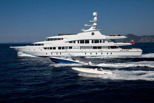 Superyacht Lucky Lady Cruise