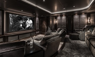 Yacht Aquila Movie Theater
